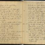 Paul Wahl berichtet von seinem Einsatz in Flandern und Galizien, item 20