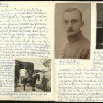Felddivisionspfarrer Walter Borrmann in Abancourt und Tarnopil
