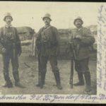 Otto Jensen und sein Schwager Paul Appold im Krieg, item 11