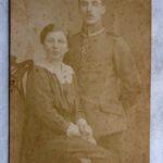Sanitätsunteroffizier Wilhelm Lötzke verlobt sich im März 1917
