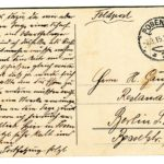 Feldkoch Richard Gänger schreibt seinen Eltern von der Ost- und Westfront, item 4
