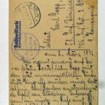 Feldpost der Brüder Georg und Carl Popp, item 18
