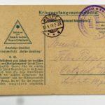 Feldpost der Brüder Georg und Carl Popp, item 95