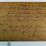 Feldpost der Brüder Georg und Carl Popp, item 96