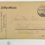 Feldpost der Brüder Georg und Carl Popp, item 105