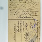 Feldpost der Brüder Georg und Carl Popp, item 112