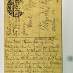 Feldpost der Brüder Georg und Carl Popp, item 124