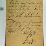 Feldpost der Brüder Georg und Carl Popp, item 141