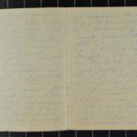Kriegstagebuch Nr. 1 vom Offiziersanwärter Eduard Bachmann, item 3