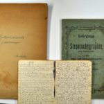Tagebuch in Gabelsberger-Kurzschrift von Alwin Metz