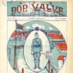 FRB -  The Pop Valve, Journal publié par les soldats américains installés à Vauzelles, près de Nevers (Nièvre)