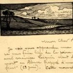 FRB - Correspondance entre le graveur Fernand Chalandre (1879-1924) et l'homme de lettres Raoul Toscan (1884-1946)