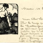 FRB - Correspondance entre le graveur Fernand Chalandre (1879-1924) et l'homme de lettres Raoul Toscan (1884-1946), item 3