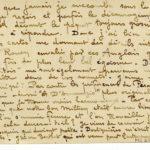 FRB - Correspondance entre le graveur Fernand Chalandre (1879-1924) et l'homme de lettres Raoul Toscan (1884-1946), item 4