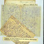 Alwin Metz Feldpost November 1914 - Januar 1915: Verlegung in die Karpathen