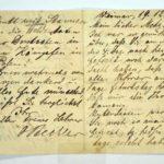 Alwin Metz Feldpost November 1914 - Januar 1915: Verlegung in die Karpathen, item 4