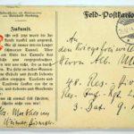Alwin Metz Feldpost November 1914 - Januar 1915: Verlegung in die Karpathen, item 7