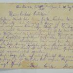 Alwin Metz Feldpost November 1914 - Januar 1915: Verlegung in die Karpathen, item 10