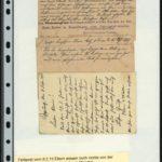 Die Suche nach dem Verbleib von Alwin Metz von Februar bis April 1915