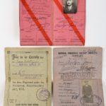 Engels paspoort van Mechelaar Jean Aertzen.
