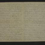 Lettre de Casimir à sa mère et à sa soeur