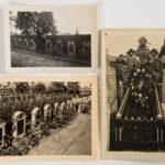 Portefeuille met foto's en brieven van Charles Dethier.