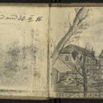 Skizzenbuch von Hugo Mertens, item 2
