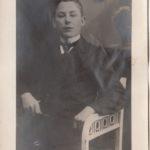 Foto, Briefe und Gedichte von Friedrich Antonius Wirringa