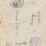 Foto, Briefe und Gedichte von Friedrich Antonius Wirringa, item 6