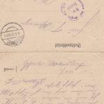 Foto, Briefe und Gedichte von Friedrich Antonius Wirringa, item 20