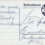 Joseph Spee - Briefe von der Front - vermisst in Maucourt