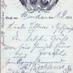 Joseph Spee - Briefe von der Front - vermisst in Maucourt, item 2