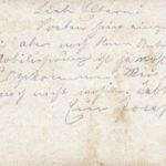 Joseph Spee - Briefe von der Front - vermisst in Maucourt, item 4