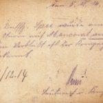 Joseph Spee - Briefe von der Front - vermisst in Maucourt, item 14