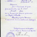 Joseph Spee - Briefe von der Front - vermisst in Maucourt, item 24