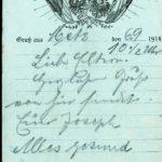 Joseph Spee - Briefe von der Front - vermisst in Maucourt, item 34