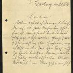 Sammlung von Briefen der Gebrüder Gierse aus Bödefeld bei Meschede, item 1