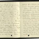 Sammlung von Briefen der Gebrüder Gierse aus Bödefeld bei Meschede, item 10