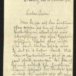 Sammlung von Briefen der Gebrüder Gierse aus Bödefeld bei Meschede, item 12
