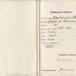 Seefahrtsbuch Nr. 1 von Rudolf Kämmerer, item 4