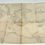 Zeekaart van de Middellandse Zee