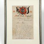 Een brief naar het thuisfront