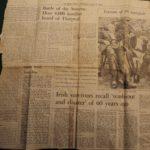 Irish Times article, 1 July 1976
