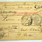 Alwin Metz Feldpost Januar bis Juli 1916: Die Verlegung in ein neues Lager, item 12