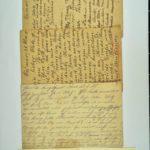 Alwin Metz Feldpost Februar bis Juni 1915: Genesungswünsche vom Lehrerseminar, item 1