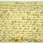Alwin Metz Feldpost März bis Dezember 1916, item 9