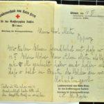 Alwin Metz Feldpost März bis Dezember 1916, item 11
