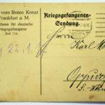 Feldpost Alwin Metz Januar bis September 1917, item 2
