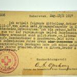 Feldpost Alwin Metz Januar bis September 1917, item 29
