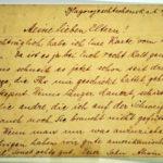 Feldpost Alwin Metz Januar bis September 1917, item 43